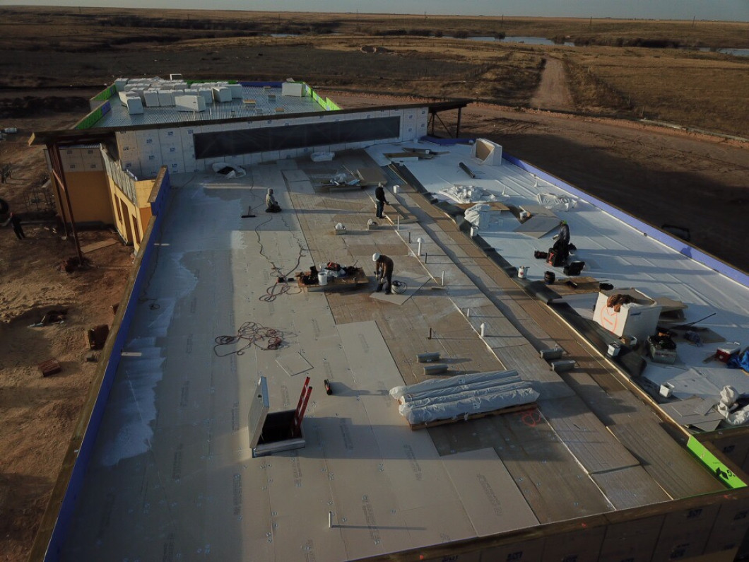Commercial roofing services in Amarillo, TX